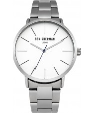 Ben Sherman WB054SM Mens Silver Steel Bracelet Watch