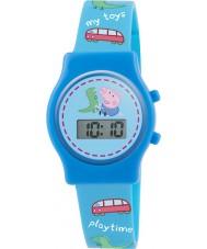 Peppa Pig PP010 Boys Digital Watch with Blue Silicone Strap