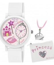 Tikkers ATK1013 Girls Princess 3D Watch Gift Set with Necklace and Purse