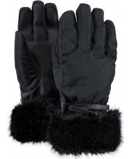 Barts Ladies Empire Black Ski Gloves