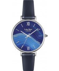 Lola Rose LR2015 Ladies Dark Navy Blue Leather Strap Watch