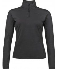 Protest 3610200-290-L-40 Ladies Fabrizoy True Black Zip Top - Size L (40)