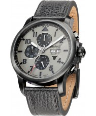 Ingersoll IN1221GUGY Mens Bison No.72 Black Chronograph Watch