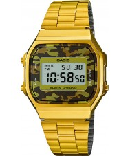 Casio A168WEGC-5EF Mens Retro Collection Gold Plated Watch