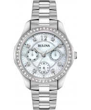 Bulova 96N111 Ladies Crystal Watch