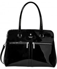 Modalu MH6200-BLACKPATENT Ladies Pippa Bag