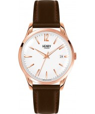 Henry London HL39-S-0028 Richmond White Brown Watch