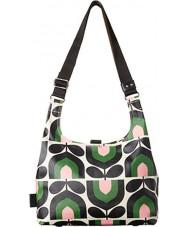 Orla Kiely 17RESTP044-7315 Ladies Stripe Tulip Print Spring Midi Sling Bag