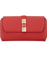Fiorelli FS0861-RED Ladies Evie Pillar Box Red Flap Over Purse