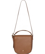 Modalu MH6145-TAN Ladies Somerset Tan Saddle Shoulder Bag