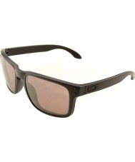 Oakley OO9102-90 Holbrook Matte Black - Prizm Daily Polarized Sunglasses
