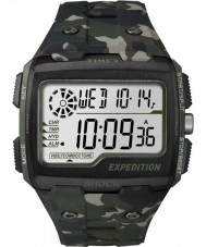 Timex TW4B02900 Mens Expedition Digital Shock Khaki Camo Chrono Watch