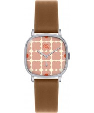 Orla Kiely OK2023 Ladies Cecelia Tan Leather Strap Watch