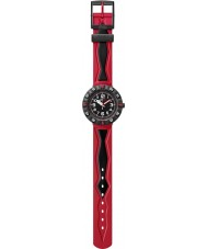 Flik Flak FCSP025 Boys Rosson Red And Black Watch