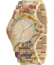 WeWOOD DATEFLOWBEIGE Date Flower Beige Watch
