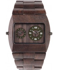 WeWOOD JUPCHOCRS Jupiter Chocolate Wood Bracelet Watch