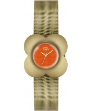 Orla Kiely OK4050 Ladies Poppy Gold Plated Bracelet Watch