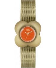 Orla Kiely OK4050 Ladies Poppy Gold Plated Bracelet Watch