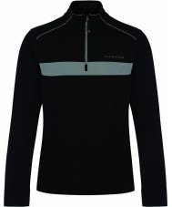 Dare2b DML329-80090-XXL Mens Sanction Black Core Stretch Midlayer - Size XXL