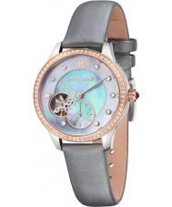 Thomas Earnshaw ES-8029-05 Lady Australis Grey Satin Strap Watch