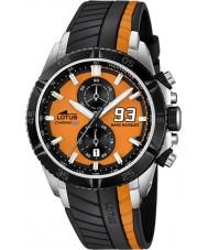 Lotus 18103-1 Mens Marc Marquez Chrono GP Orange Black Watch