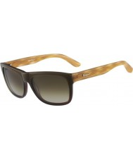 Salvatore Ferragamo Mens SF686S Khaki Gradient Sunglasses