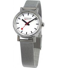 Mondaine A658-30301-11SBV Evo Petite Silver Steel Mesh Bracelet Watch