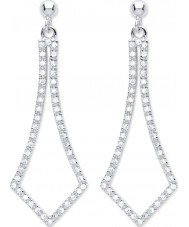 Purity 925 PUR3827ED Ladies Earrings