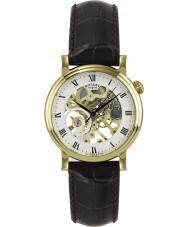 Rotary GS02842-03 Mens Mechanical Gold Watch