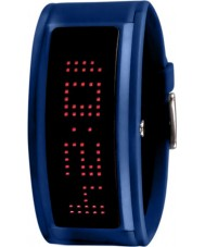 Black Dice BD-044-13 Guru Blue Rubber Strap Watch