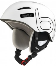 Bolle B-Style Soft White and Black Ski Helmet