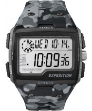 Timex TW4B03000 Mens Expedition Digital Shock Grey Camo Chrono Watch