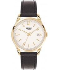 Henry London HL39-S-0010 Westminster Black Leather Strap Watch