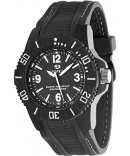 Marea 35232-1 Mens Sports Black Silicone Strap Watch