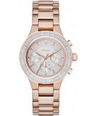 DKNY NY2396 Ladies Chambers Rose Gold Plated Chronograph Watch