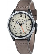 AVI-8 AV-4035-03 Mens Lancaster Bomber Beige Leather Strap Watch