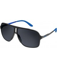 Carrera Mens Carrera 122-S GUY IR Matte Black Sunglasses
