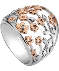 Hot Diamonds DR109-K Ladies Shades of Spring Ring
