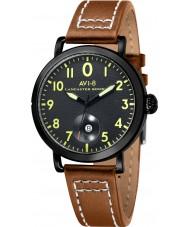 AVI-8 AV-4020-04 Mens Lancaster Bomber Light Brown Leather Strap Watch