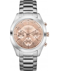 Caravelle New York 45L143 Ladies Melissa Silver Chronograph Watch