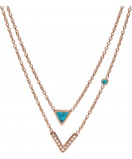 Fossil JF02644791 Ladies Necklace