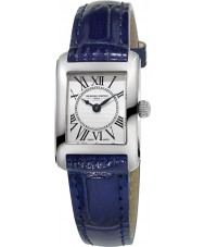 Frederique Constant FC-200MC16 Ladies Classics Carree Blue Leather Strap Watch