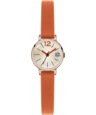 Orla Kiely OK2024 Ladies Frankie Orange Leather Strap Watch