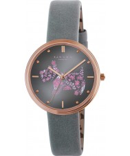 Radley RY2338 Ladies Rosemary Gardens Thunder Leather Strap Watch