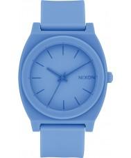 Nixon A119-2286 Time Teller Blue Rubber Strap Watch