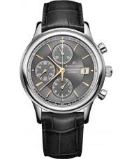 Maurice Lacroix LC6158-SS001-330-1 Mens Les Classiques Automatic Black Chronograph Watch