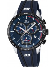 Lotus L18257-1 Mens Marc Marquez Blue Rubber Chronograph Watch