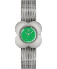 Orla Kiely OK4051 Ladies Poppy Silver Steel Bracelet Watch
