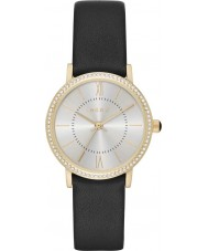 DKNY NY2552 Ladies Willoughby Black Leather Watch
