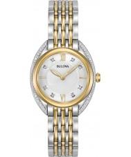 Bulova 98R229 Ladies Diamond CURV Watch